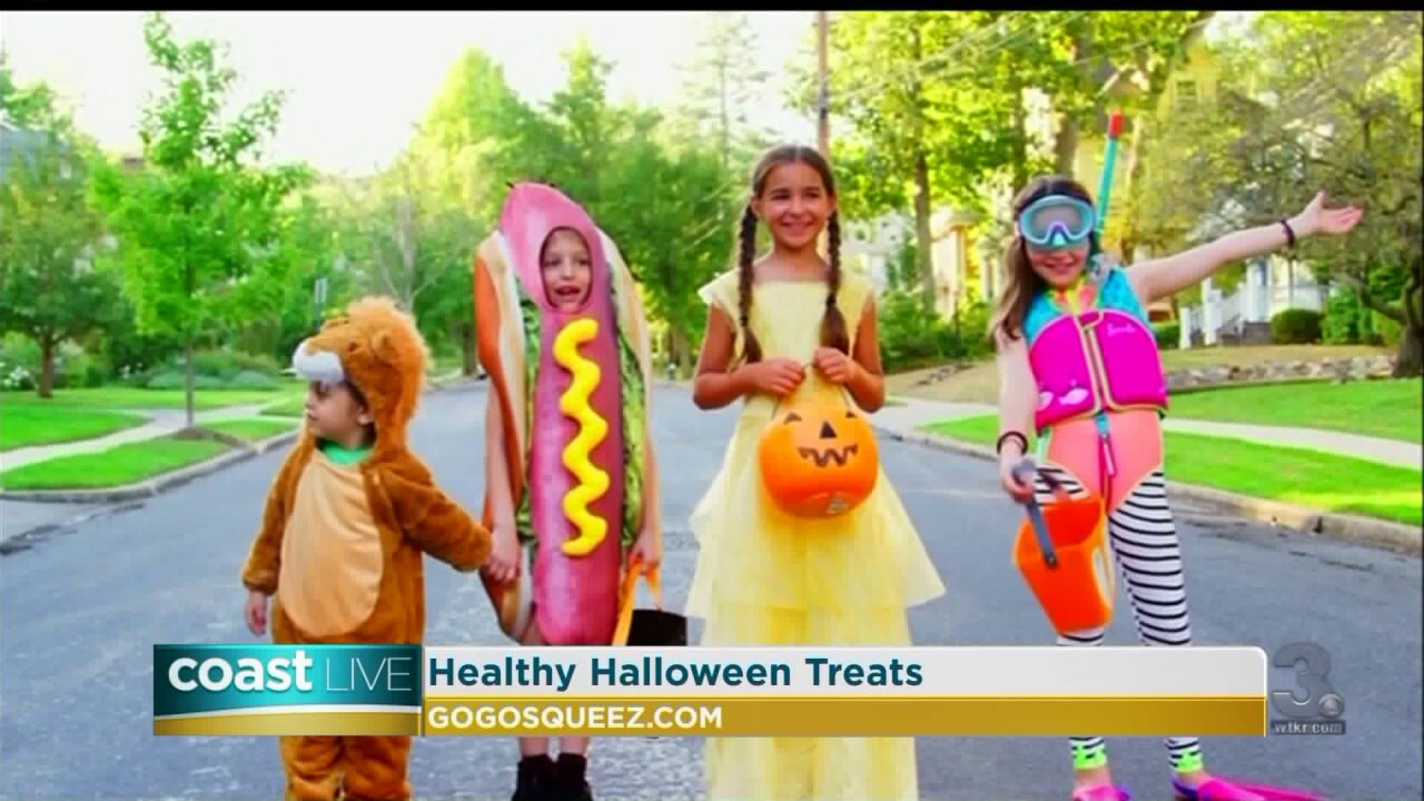 Healthy Halloween snacks for kids on Coast Live