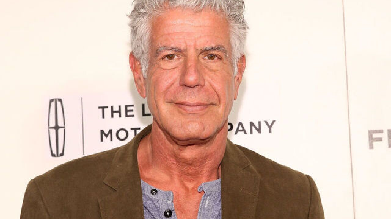 Anthony Bourdain honored with posthumous Emmy awards