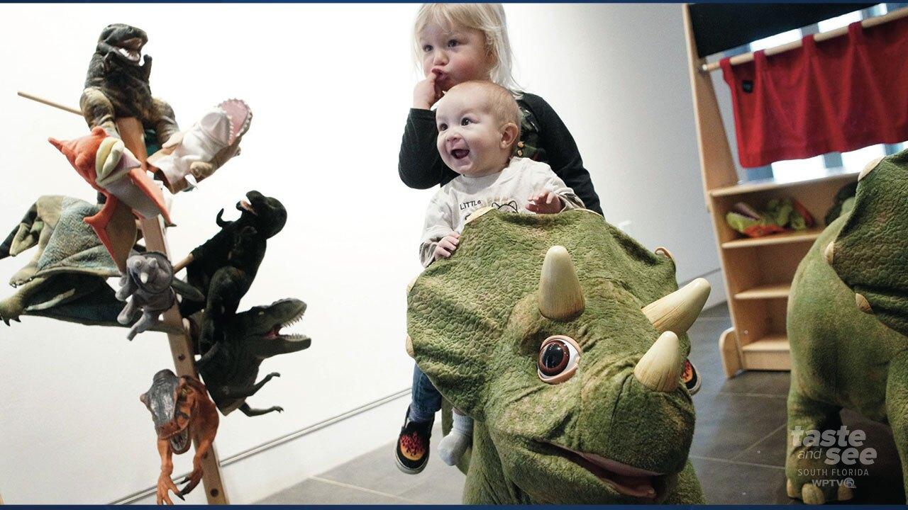 Dinosaurs return to the South Florida Science Center and Aquarium