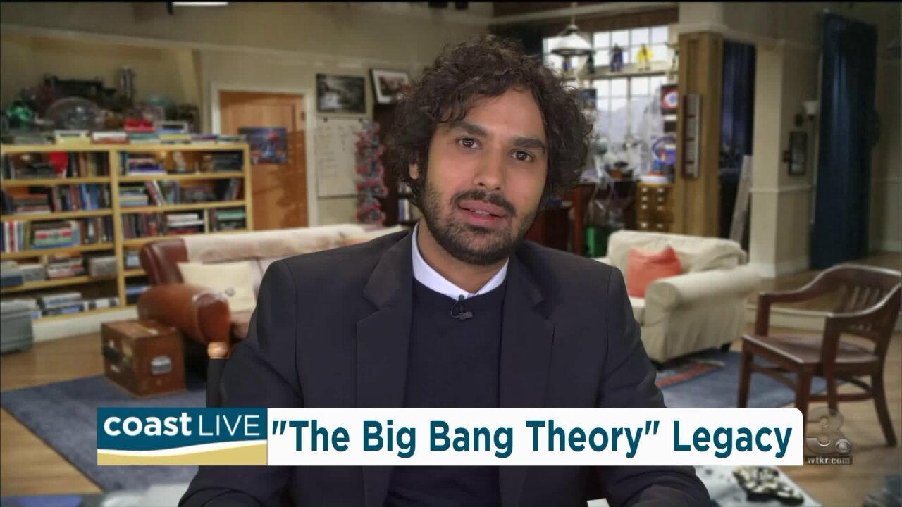 "Talking with ""The Big Bang Theory"" star Kunal Nayyar live on Coast Live"