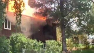Sandy House Explosion