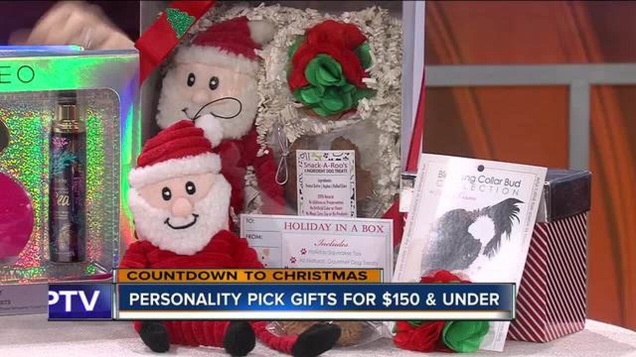 Personal holiday gift ideas for $150 or under