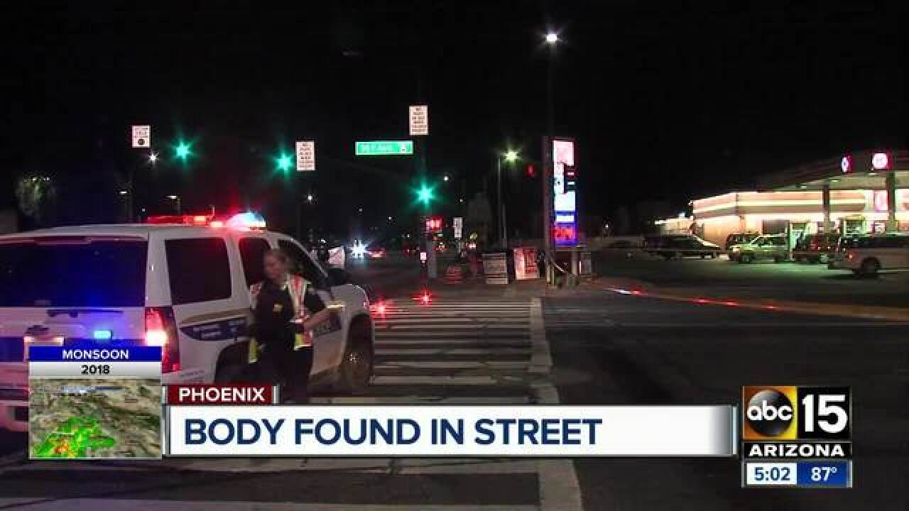 Police: Driver leaves scene after deadly pedestrian crash in