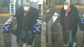 Suspect in toddler struck on subway