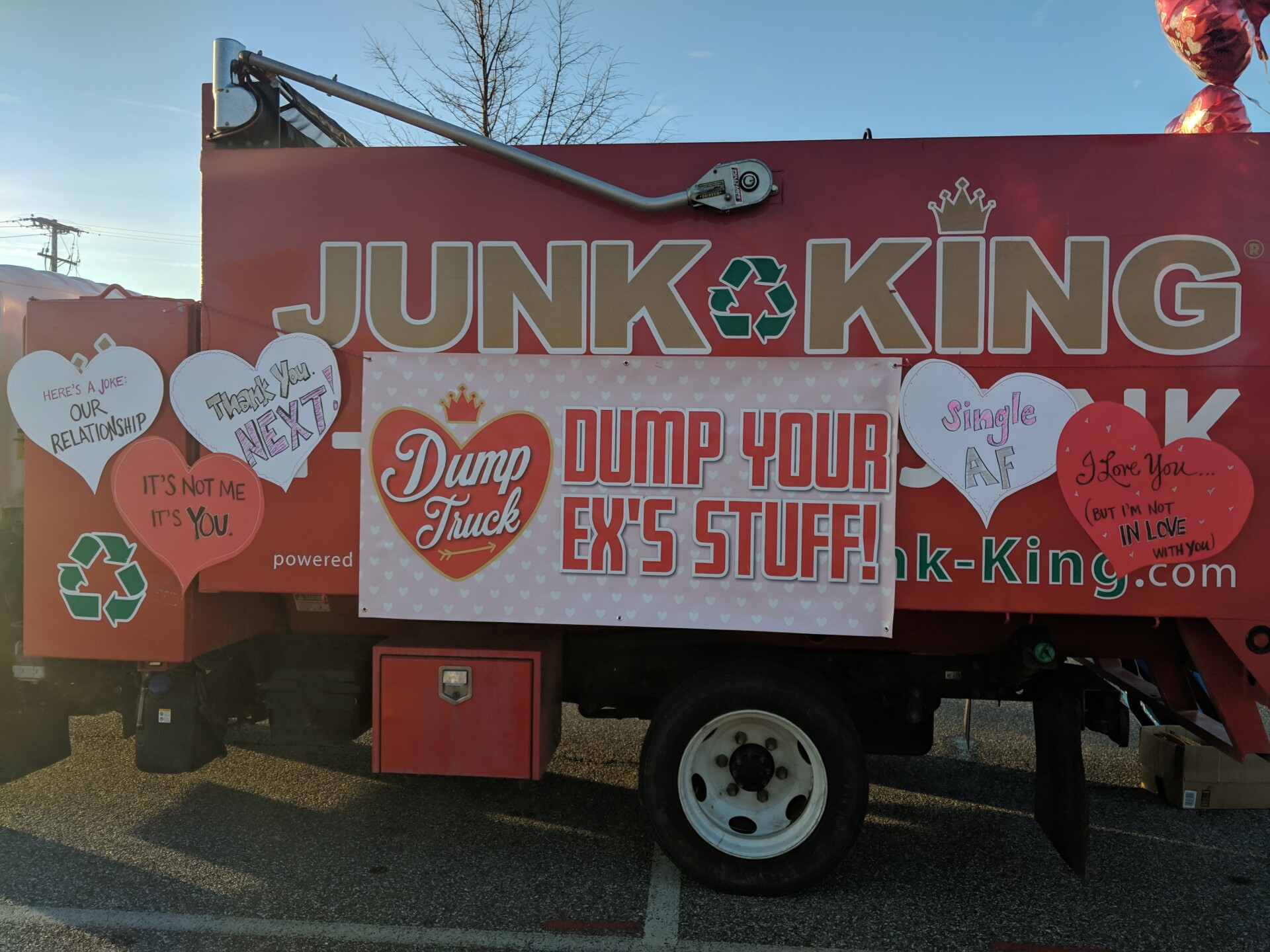 PHOTOS: Junk King helps brokenhearted Baltimoreans this