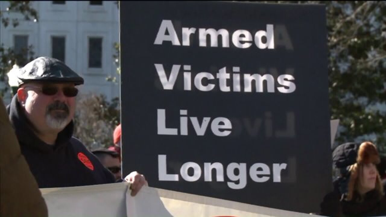 Delegate: 'It's not that I am giving more freedom to gun owners, it's that I am trying to fight for them to keep theirfreedoms'