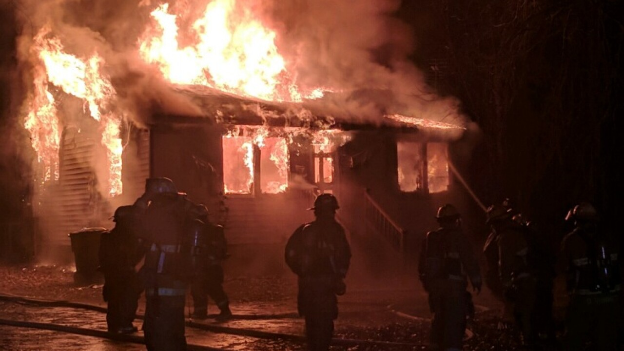 Suffolk dispatcher's home catches fire while taking 911 calls at work