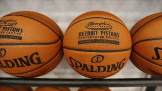 Pistons Practice Facility Basketball
