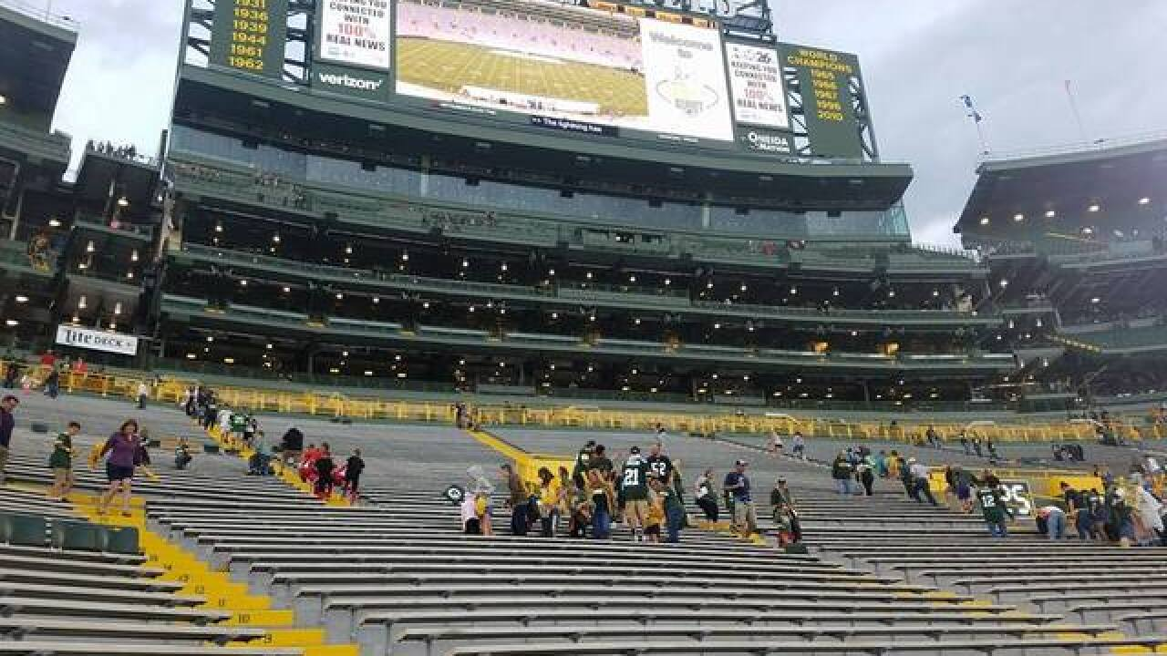 Police remind public of traffic congestion for Packers Family Night