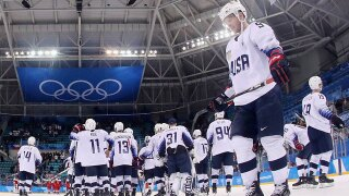 Czechs eliminate US men's hockey team in shootout in Olympic quarterfinals