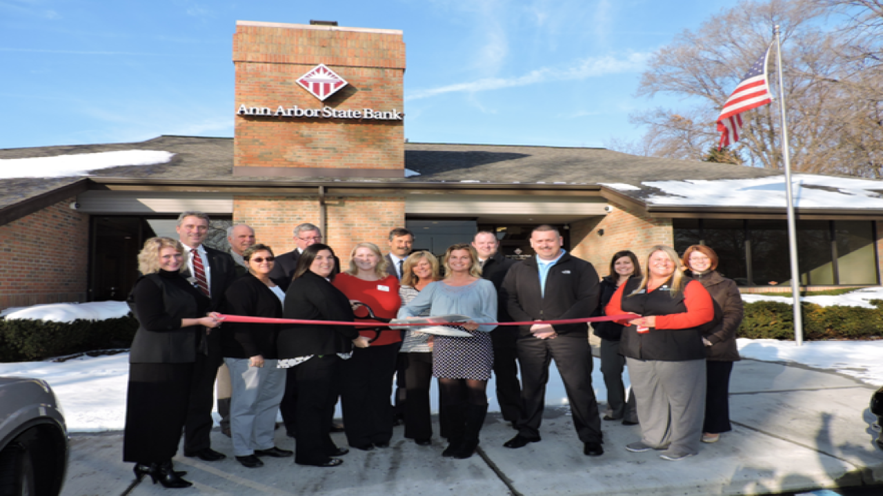 New location for Ann Arbor State Bank