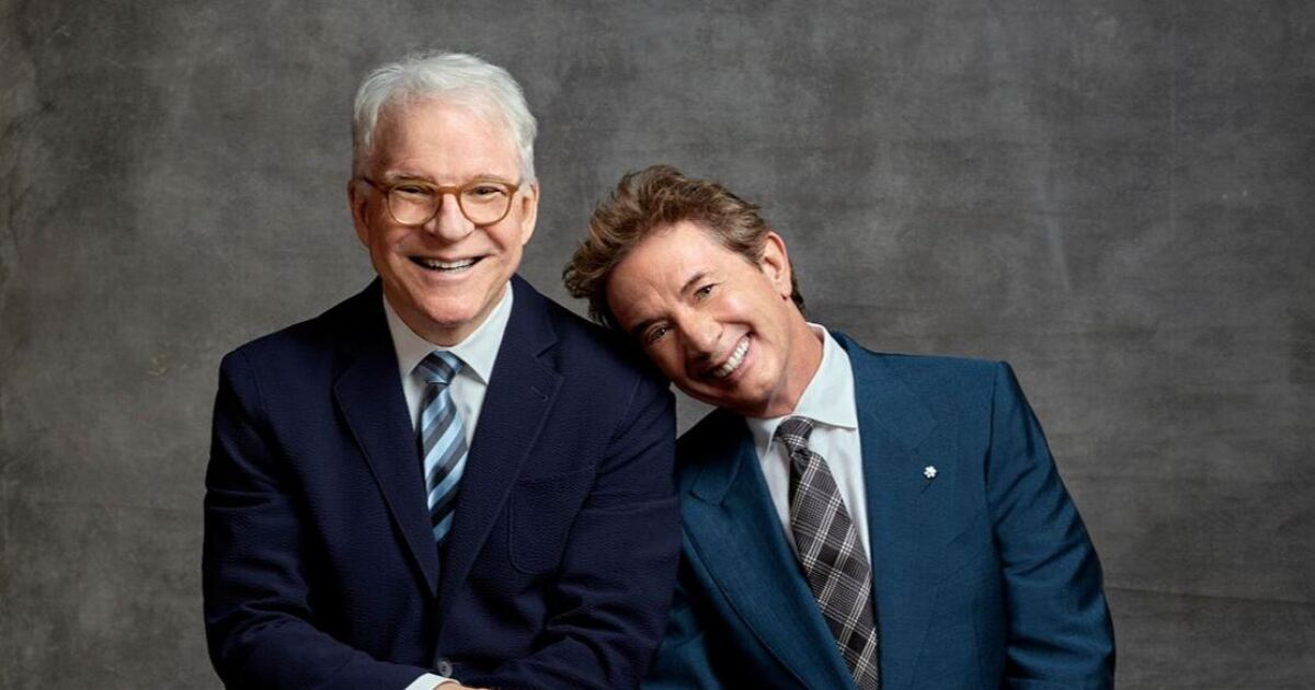 Steve Martin and Martin Short bringing new show to Vegas