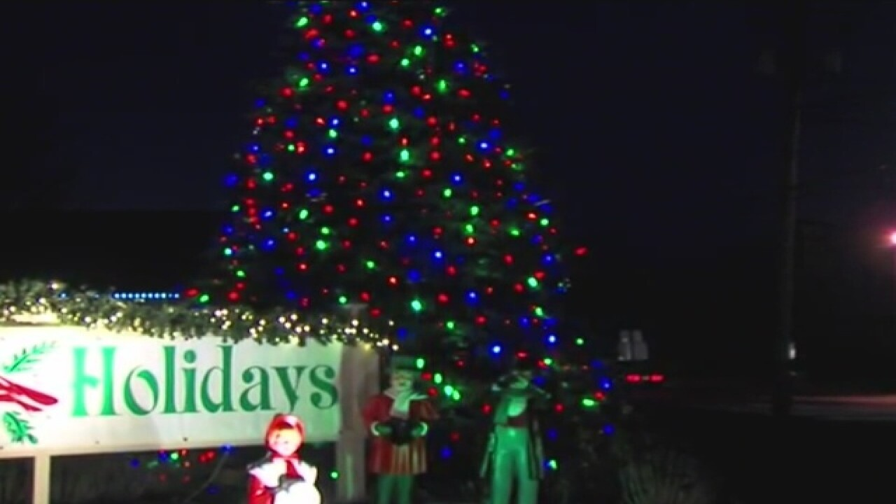 Vandals likely killed Richfield Christmas tree