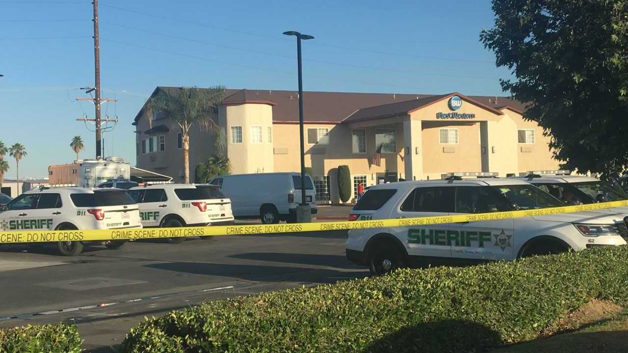 Man killed, woman injured after officer-involved shooting