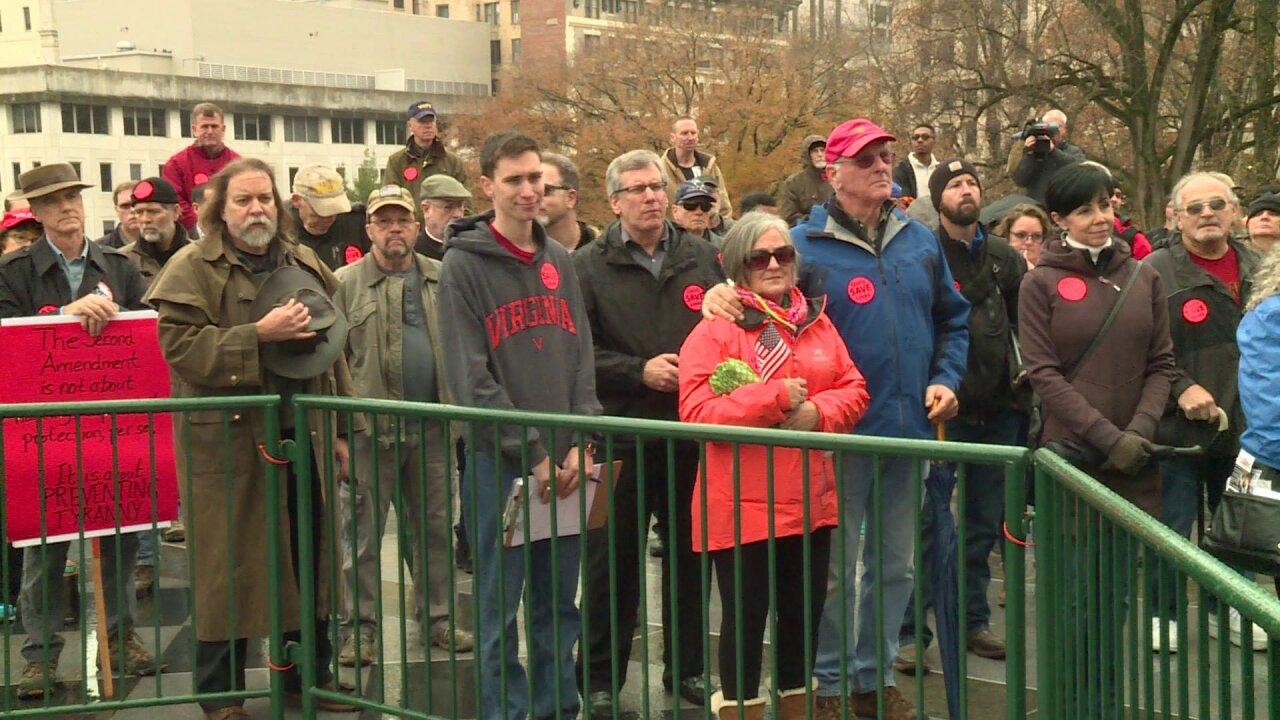 Gun rights activists gather at Virginia Capitol to protest guncontrol