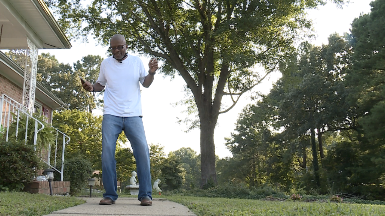 'Line Dance King of RVA' home from the hospital after battling breakthrough COVID infection