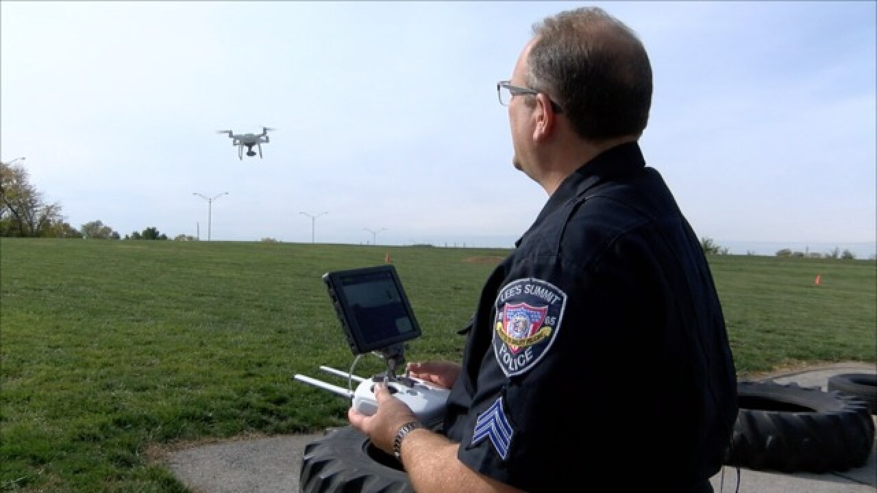 Charity buys first drone for Lee's Summit PD