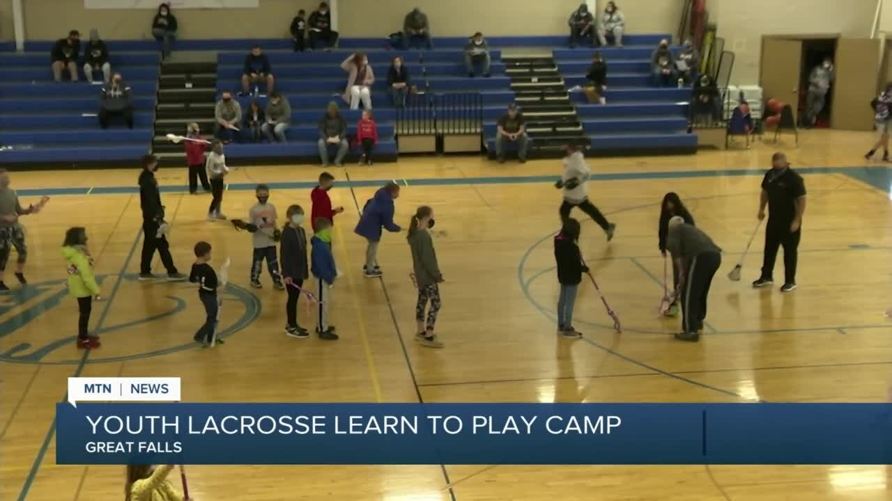 "Great Falls Lacrosse Club hosted a ""Learn To Play"" event for youth"