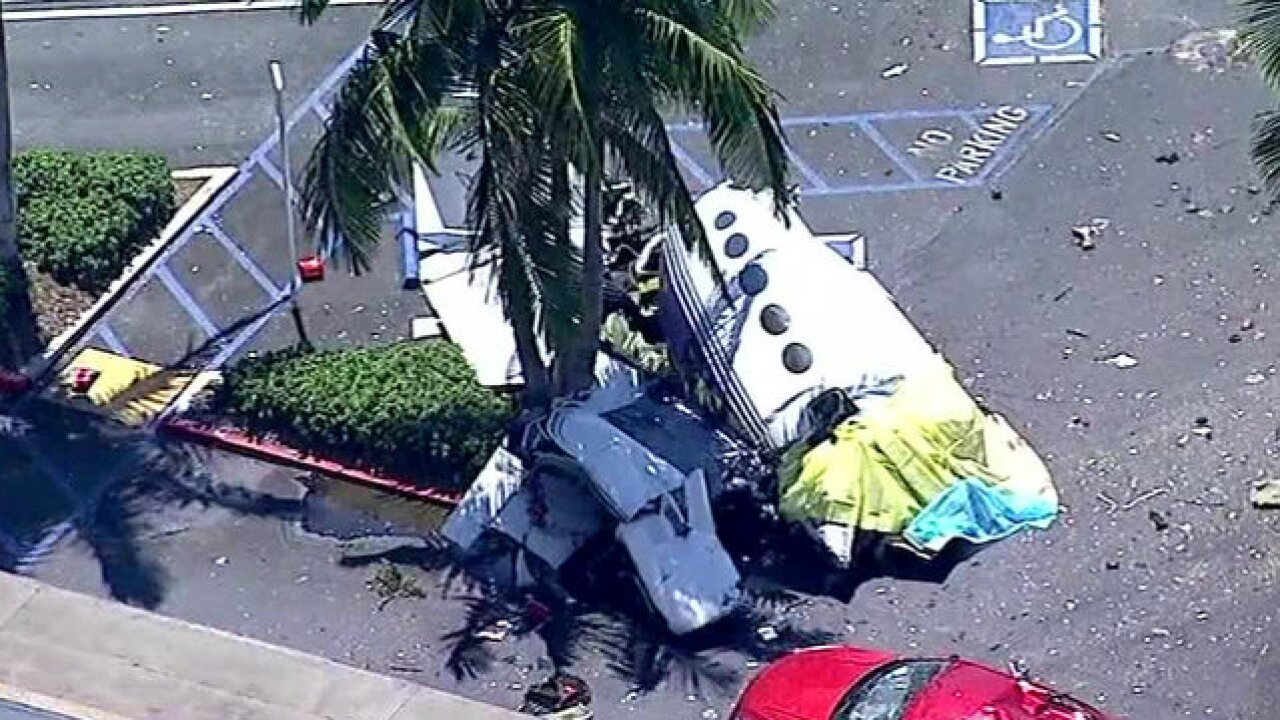 Victims in Santa Ana plane crash identified