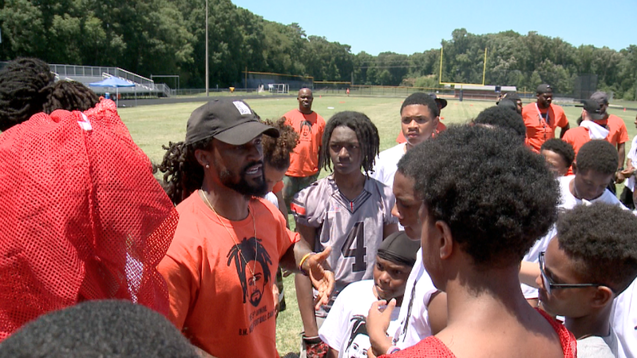 Bengals cornerback B.W. Webb preaches education over everything at football camp