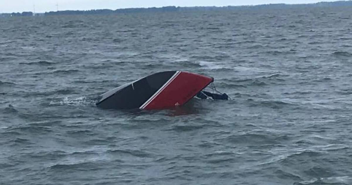 Man rescued form Lake Erie after clinging to capsized sailboat for 12 hours