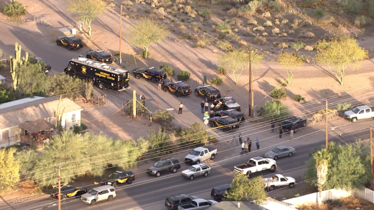 Deputy-involved shooting in Mesa, Arizona