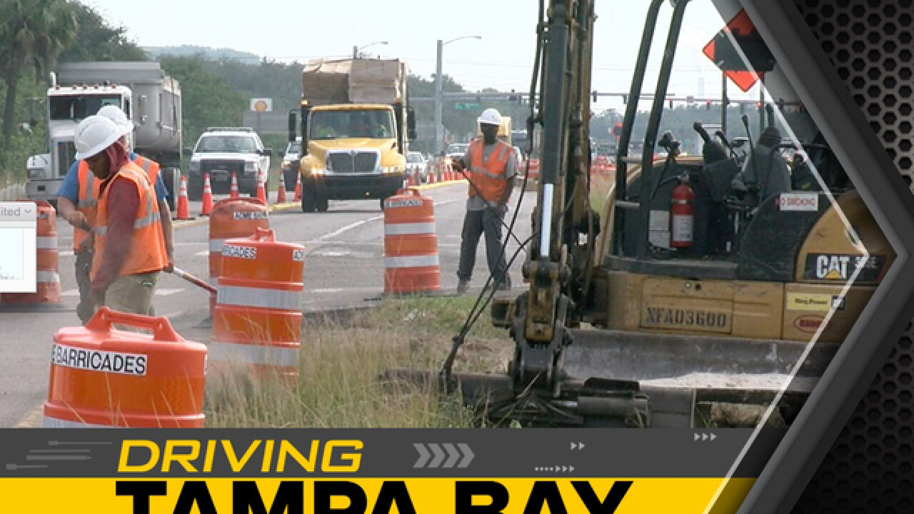 Construction on US 41 through Summer 2019