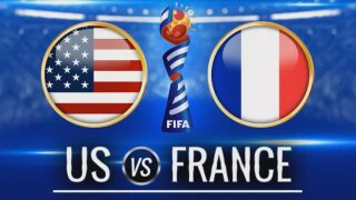 Rapinoe has 2 goals and US knocks France out 2-1