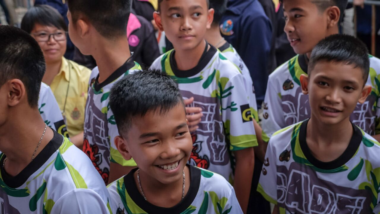 Netflix inks film deal with Thai boys who were trapped in cave