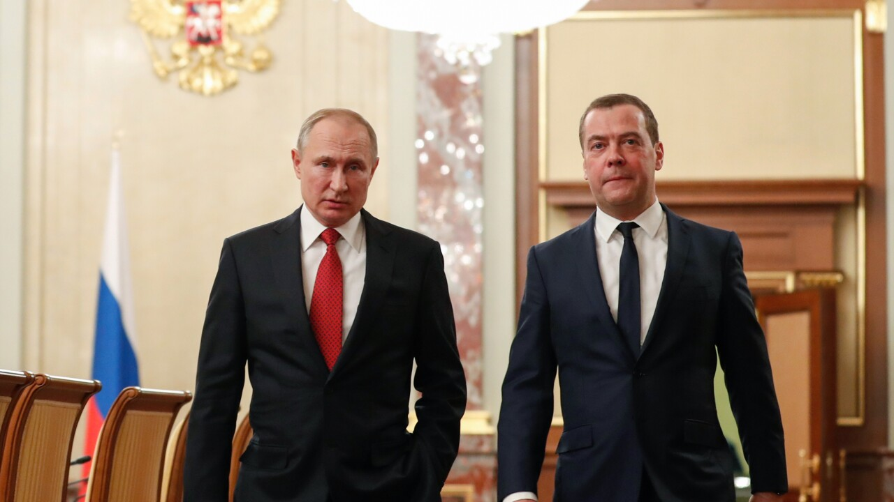 Russian government resigns as Putin seeks to change constitution