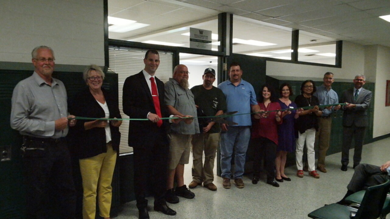 Innovation Labs at Williamston Middle School