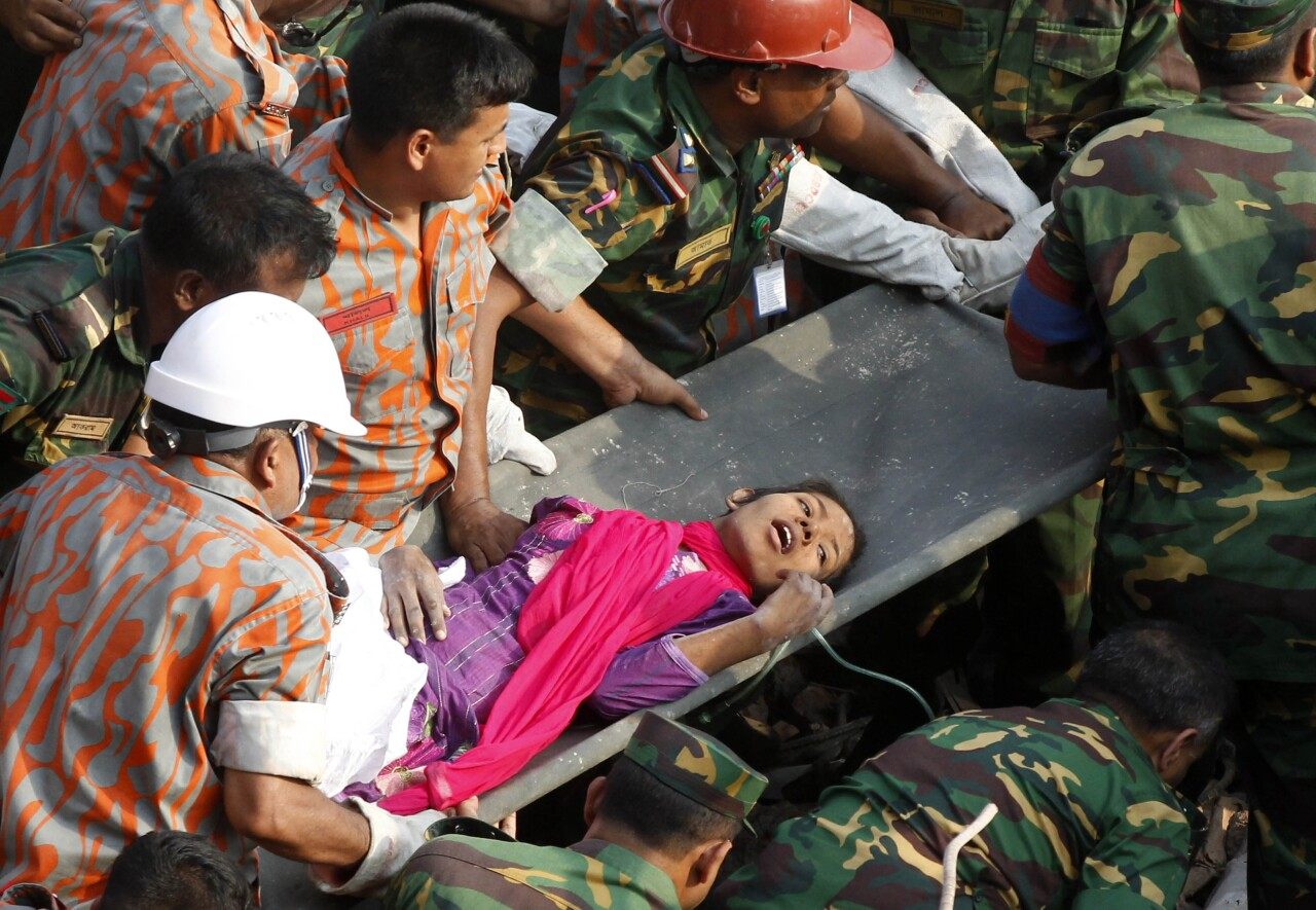 Reshma Begum pulled from rubble of 2013 building collapse in Bangladesh