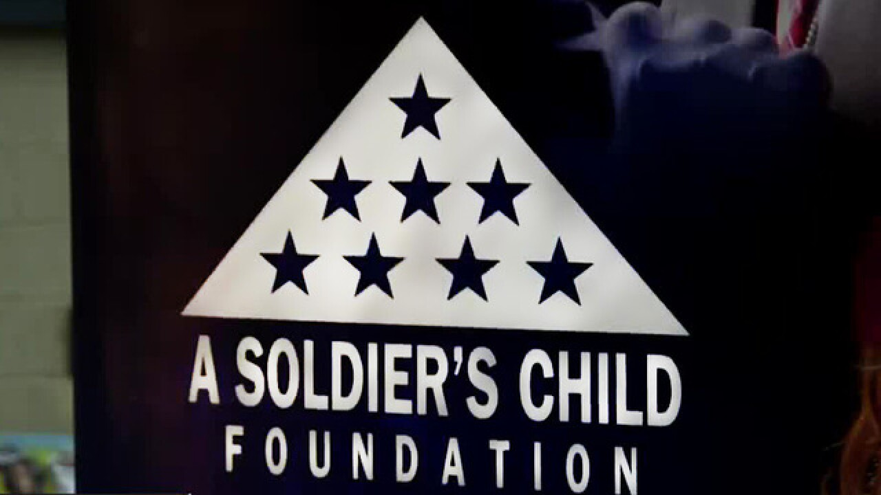 A Soldier's Child Foundation brings Christmas to the kids of fallen service members