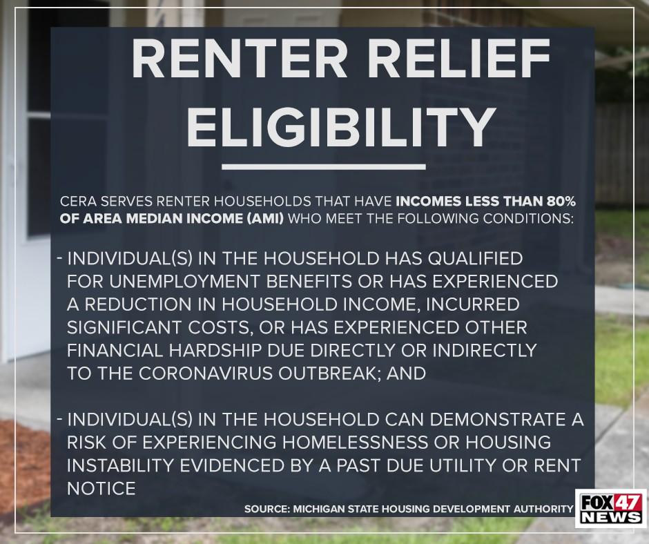 Renter Relief Eligibility