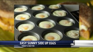 Fast Fix – Easy Sunny Side UpEggs