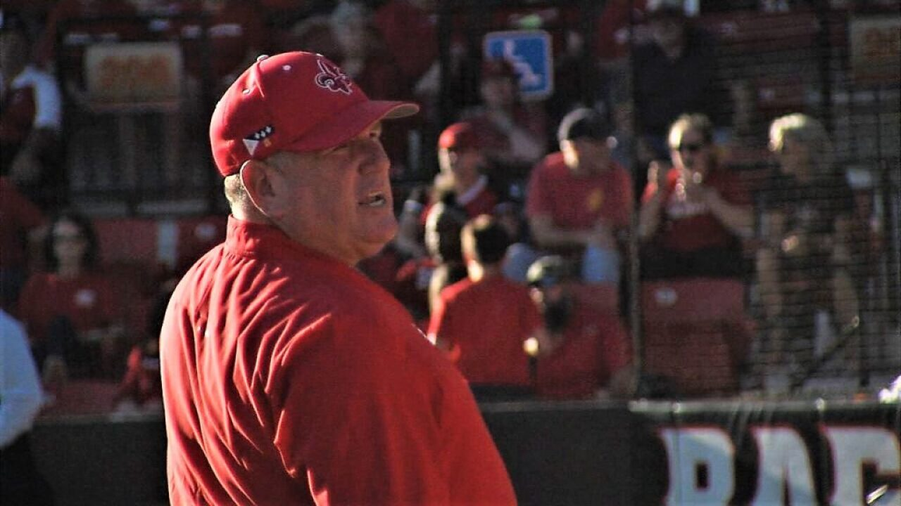 Cajuns softball to play in Ole Miss region