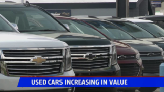 Used cars increase in value during pandemic