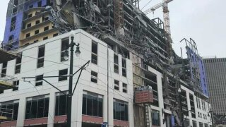 One person is still missing after a Hard Rock Hotel collapse in New Orleans kills 2 and injures 18