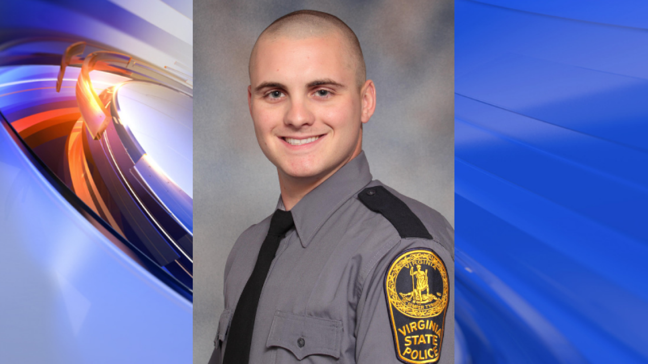 Virginia State Police trooper killed during shootout with narcotics suspect