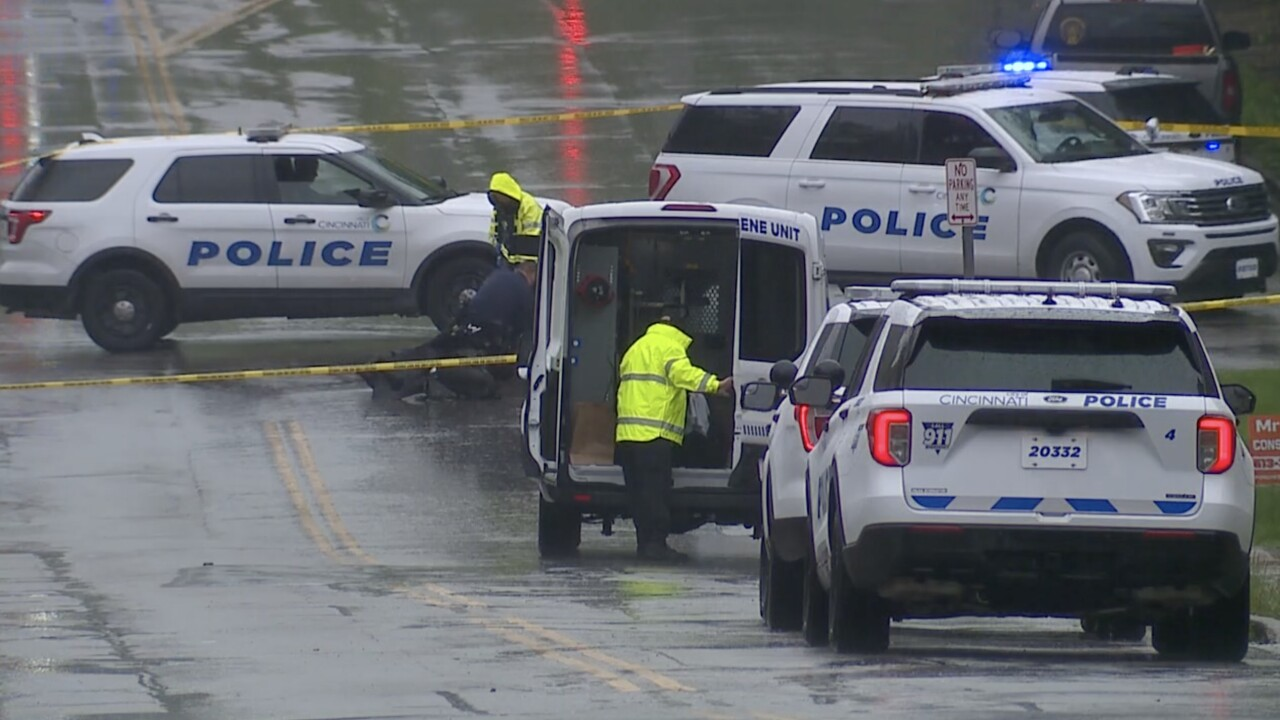crime scene cincinnati policec