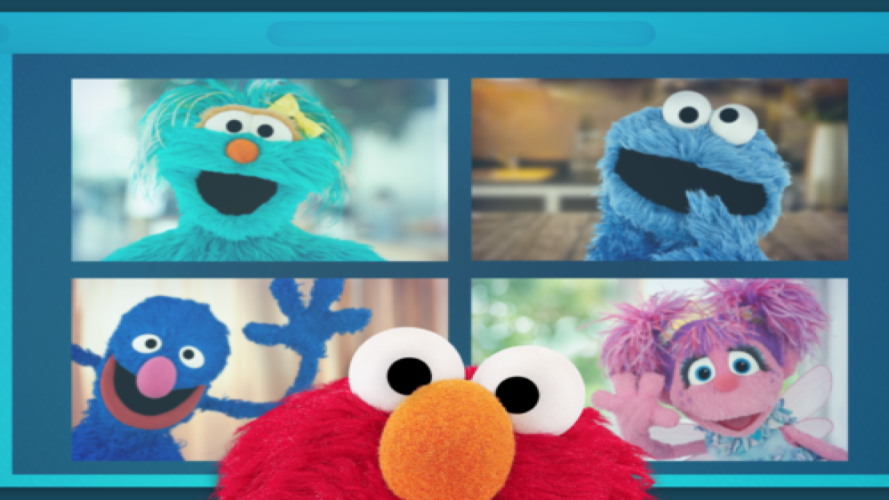 Sesame Street's Elmo Is Hosting A 'virtual Play Date' For Kids