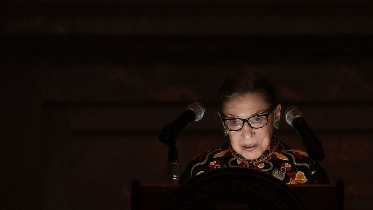 Ruth Bader Ginsburg is cancer free