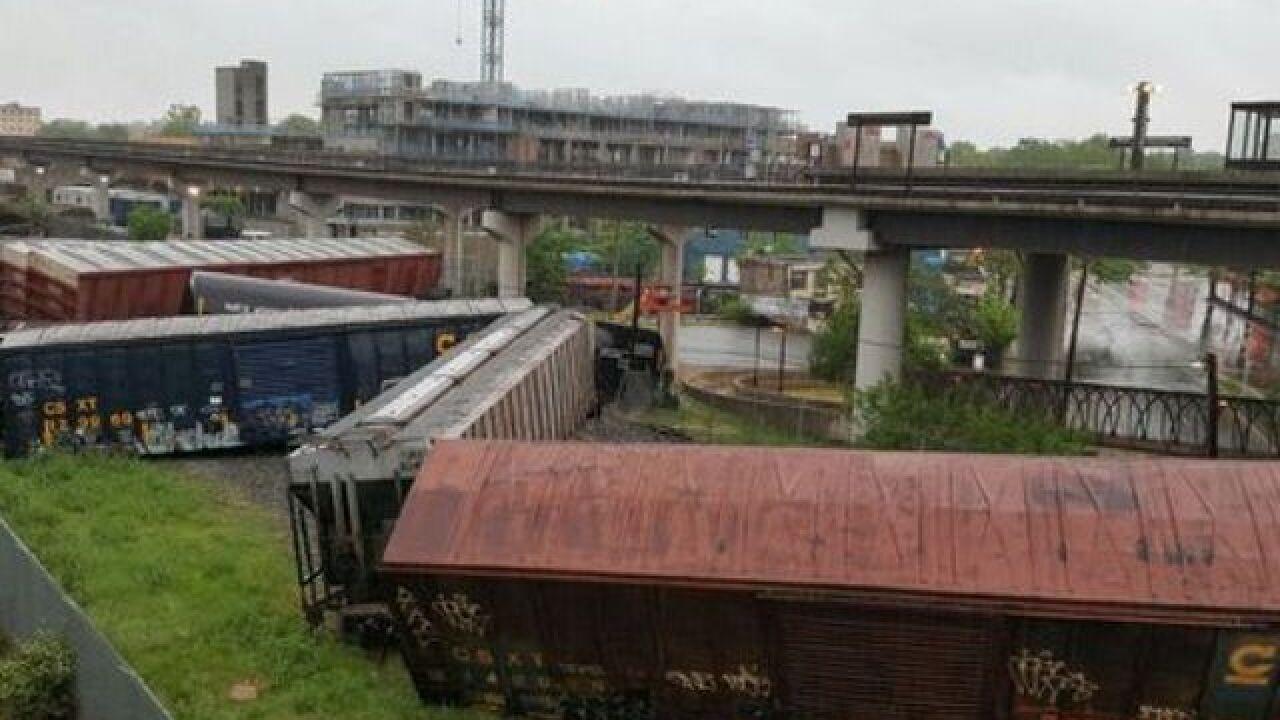 Derailment affects commuter train service to DC