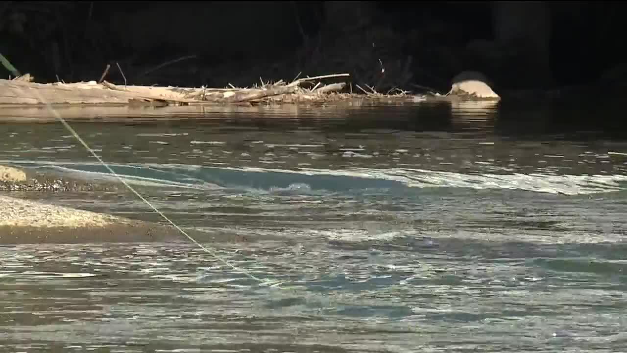 Rocky River fishing