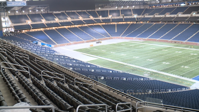 Photos: $100 million renovations on display at Ford Field