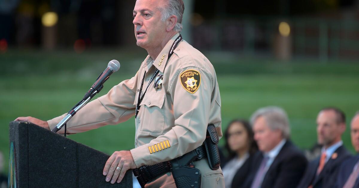 Sheriff Joe Lombardo is running for governor of Nevada next year