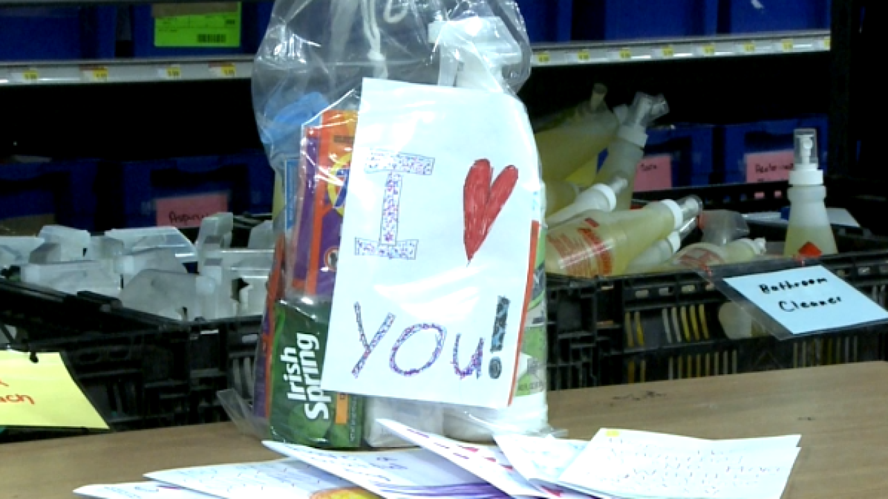 """Community Resource Center asking for """"Love Your Neighbor Notes"""""""
