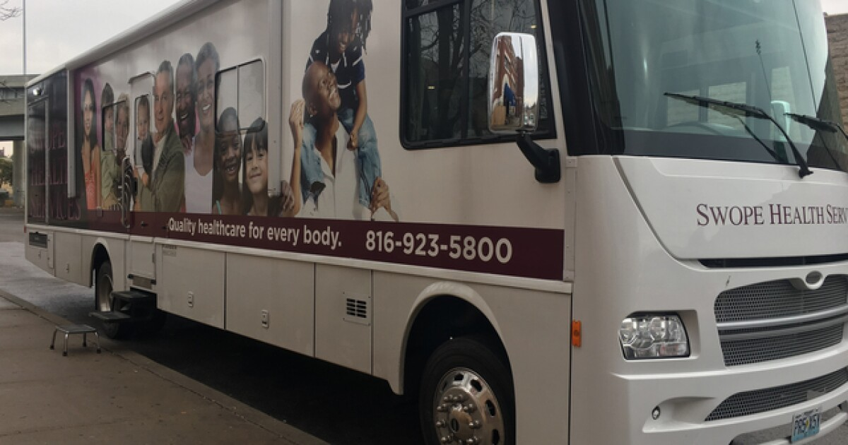 Swope Health's mobile medical clinic helping those in need