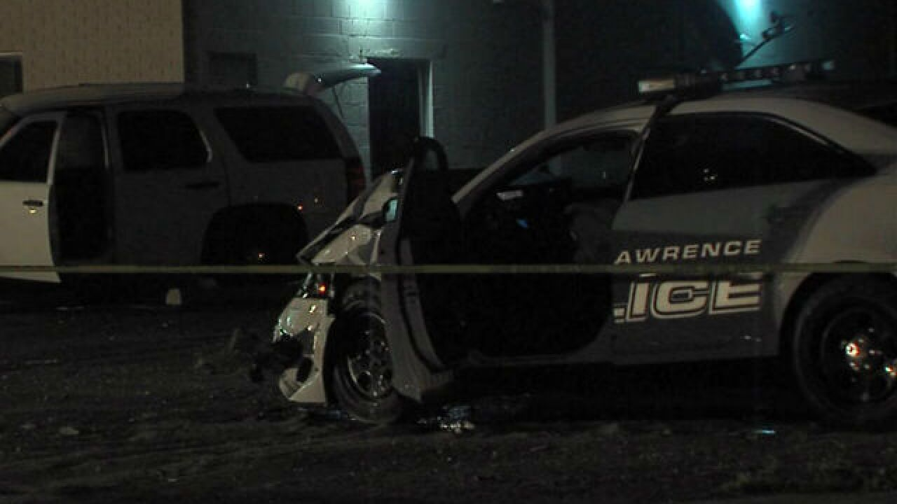 Officer hurt by suspected drunken driver