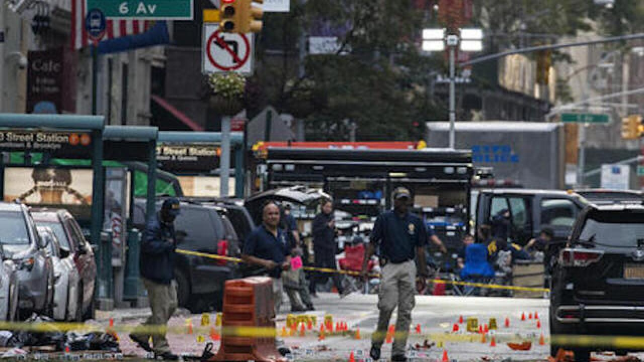 FBI looks into ties between blasts in 2 states